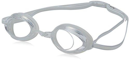Speedo Jr. Vanquisher 2.0 Swim Goggles, Clear, One Size