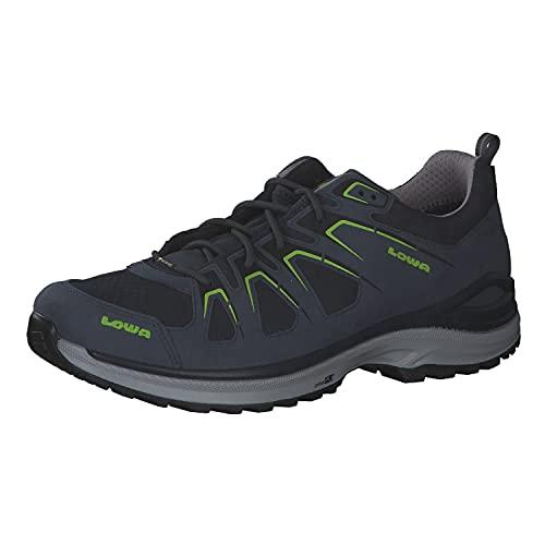 Lowa Herren Trekkingschuhe Innox Evo GTX 310611 Steel Blue/Lime 46
