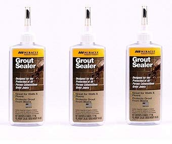 Miracle Sealants GRT SLR 6-Ounce Grout Sealer, 6-Ounce (Тhrее Расk)