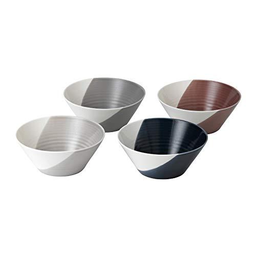 "Royal Doulton Plenty 8.2"" Set/4 Dining Bowls, Multicolor"