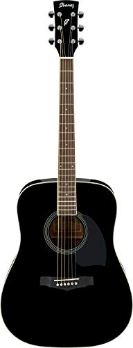 IBANEZ PF-Serie Akustikgitarre 6 String Performance - Black (PF15-BK)