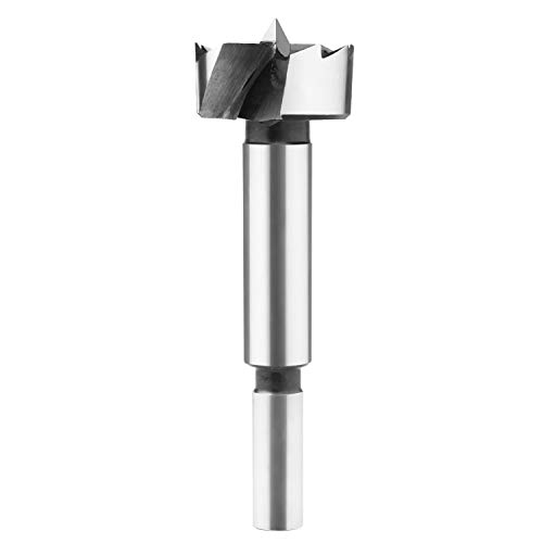 Forstner Bit, BAIDETS Forstner Bit Set, Wood Drilling 1-Inch by Round Shank