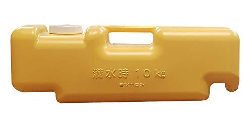 ミツギロン 看板 重り 注水式重石 バリストン 510×165×175 オレンジ