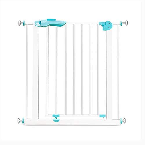 PNFP Prolonger Costway Baby Safety Park Hearth Gate Escaliers métalliques Balcon Isolement Porte Clôture Pet Chat Barre de Chien Blanc, 75-174cm de Large, Hauteur 77cm (Size : 141-149CM)