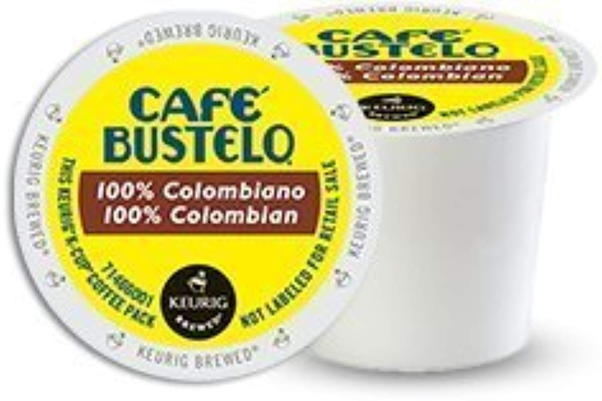 Caf Bustelo 100 Colombian Coffee 48 K Cup Packs