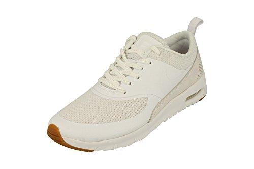 Nike Air Max Thea Se Gs Zapatillas Running 820244 Zapatillas (UK 4.5 Us 5y Eu 37.5 , Blanco Prisma Rosa 101)
