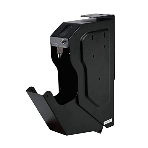 Kaltgewalztes Stahlblech Neue Fingerabdruckpistole Safe Gun Passwort Pistole Safe Fingerabdruck Pistole Safe Gun Safe Gun Box