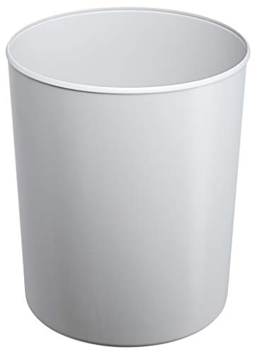 HAN Sicherheitspapierkorb 1818-F-11 in Lichtgrau / Schwer entflammbarer Papierkorb in elegantem Design / Für mehr Sicherheit im Büro / Fassungsvermögen: 20 Liter