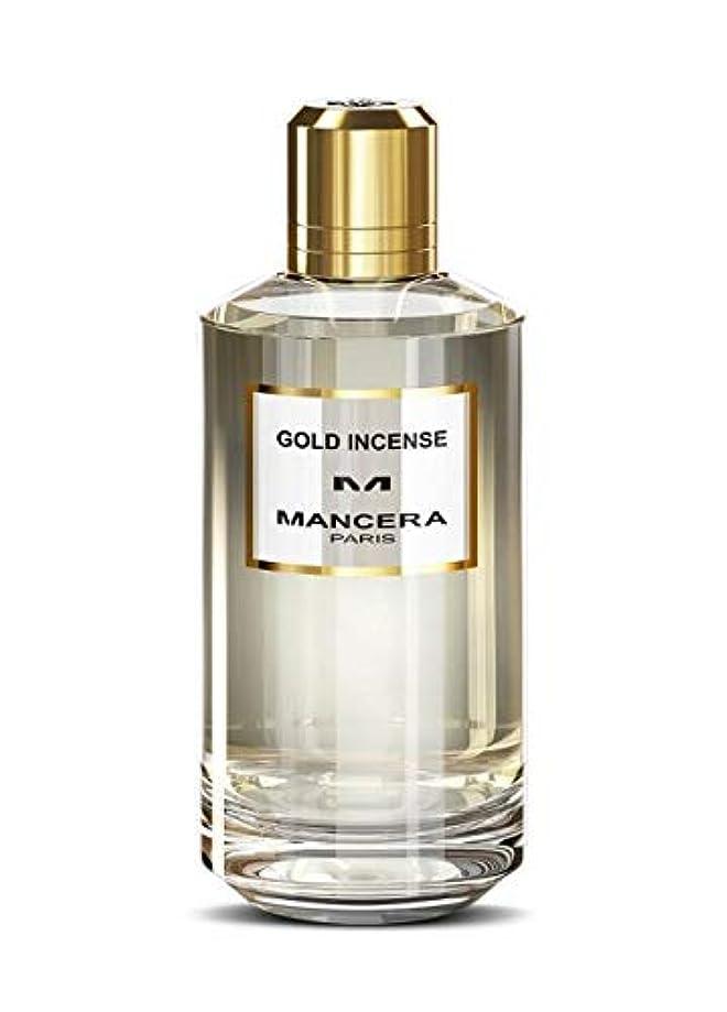 スペイン語動員する圧縮するMancera Gold Incense Eau de Parfum 4.0 oz./120 ml New in Box