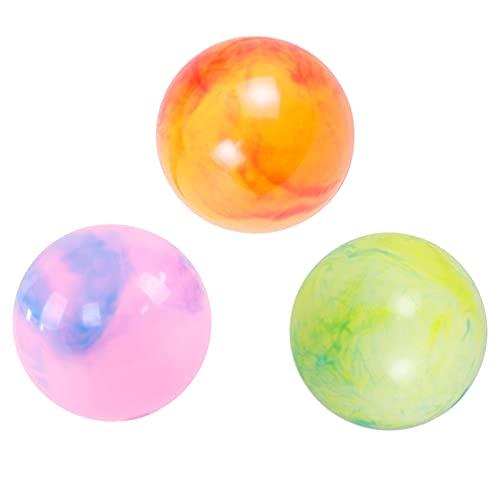 Aufblasbare Strandball 15 cm / 6 Zoll Strandbälle Strand Pool Bälle Wasserball Beach Pool Wasserbälle Aufblasbarer Wasserball für Sommer Party Spaß Spiele Aktivitäten 3 stück (Zufällige Farbe)
