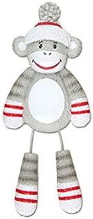 Polar X Sock Monkey Personalized Christmas Tree Ornament