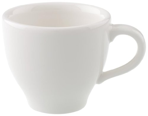 Villeroy & Boch Home Elements Mokka-/Espressotasse, 80 ml, Premium Porzellan, Weiß