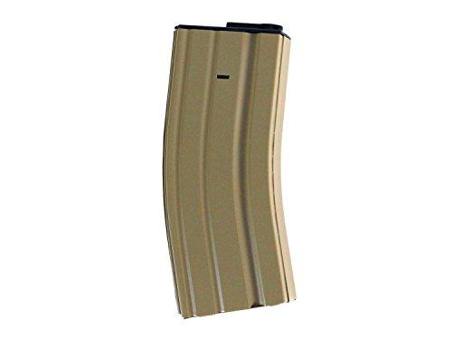 BEGADI Universalmagazin Typ 4 - M4 / M16 LowCap Magazin (68 BBS) für Airsoft (S) AEGs - TAN