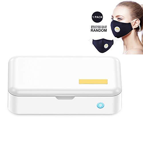 Pannow UV Sterilizer Box, automatische desinfectie doos met masker Draagbare Huishoudelijke Sterilizer Box voor mobiele telefoon Mask Tandenborstel Cleaner A