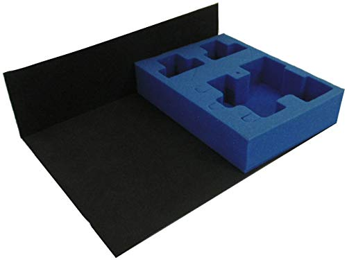 KR Multicase tray for 1x DF/HH/SR and stand (feet in, turret off), plus 2x XV88 battlesuits