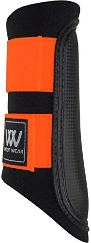 Woof Wear Club Brushing Boot Orange Horse Boot Size - MXW