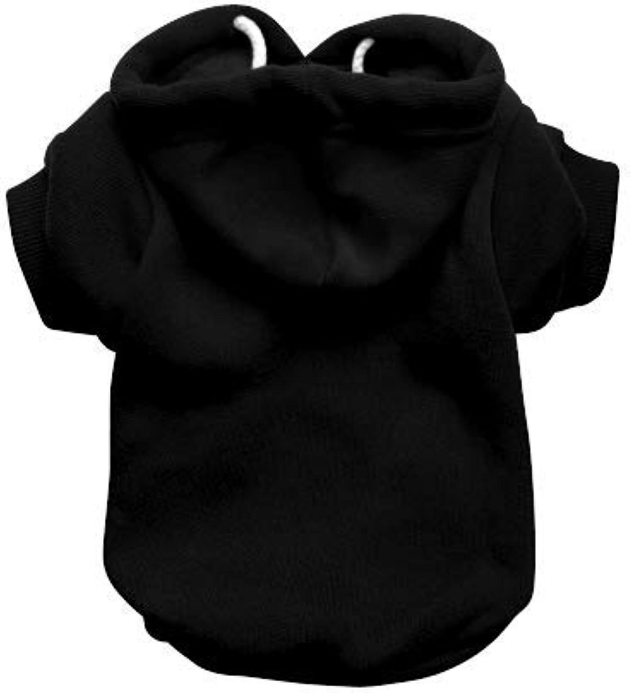 RichPaw Wholesale Black Dog Hoodie, Trade Dog Hoody, Dog Jumper, Trade Black Dog Sweatshirt (XLarge)