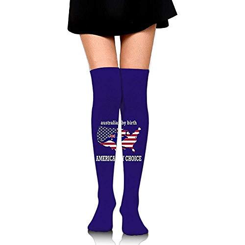 WlyFK Calcetines de mujer S sobre medias hasta las rodillas 60 cm...