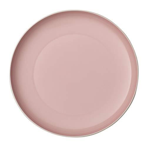 like. by Villeroy & Boch it's my match powder, großer Teller Uni, 27 cm, formschöner Teller für jeden Tag, Premium Porzellan, grün, weiß, spülmaschienengeeignet