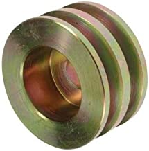 2.3 // 58.4mm OD F02Z-10344-A E9PZ-10344-A For E8PZ-10344-A New Pulley Compatible with6-Grooves 0.59 // 15mm ID