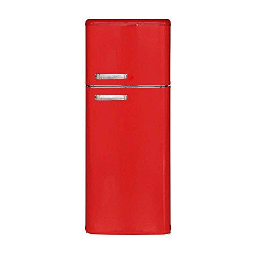 MASTER Frigorifero CLASS280, 246 L,Classe A+, Colore Rosso, 246 Litri, 40 Decibel, Acciaio