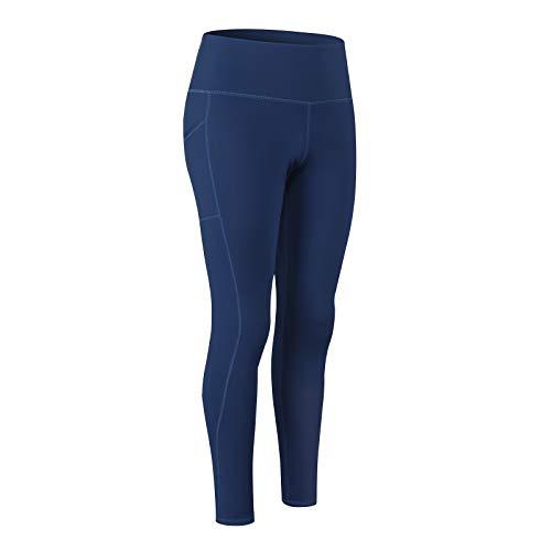 MeetHoo Leggins Donna Sportivi, Pantaloni Sportivi Yoga Leggings Compressione Push up Vita Alta Yoga Pants Elastici Collant Palestra Allenamento