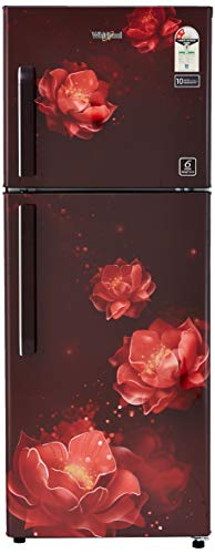 Whirlpool 245 L 2 Star Frost-Free Double Door Refrigerator (NEOFRESH 258H ROY 2S, Wine Abyss)