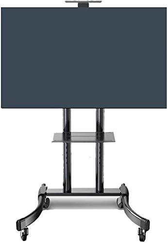 Soporte TV Ruedas Soporte TV Suelo 32 a 65 pulgadas móvil for TV de pantalla plana universal del balanceo Mueble de TV Soporte de la carretilla de la consola for paneles LED plana LCD plasma en las ru