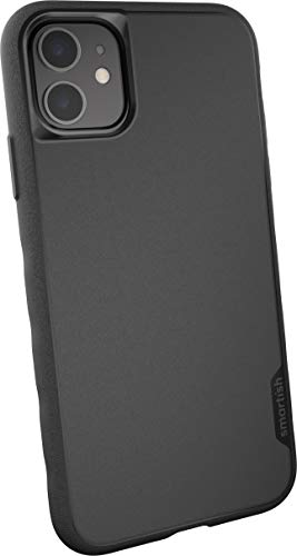 Smartish iPhone 11 Slim Case - Gripmunk [Lightweight + Protective] Thin Cover (Silk) - Black Tie Affair