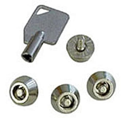 LINDY Security Screws PC Cases - Kit de sujección (Plata, Metal)