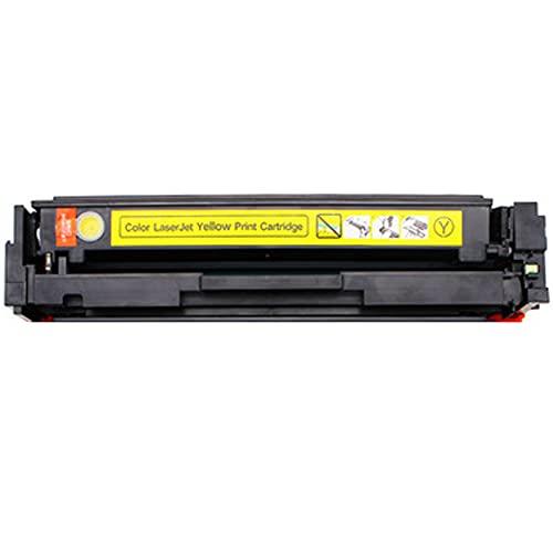 AKAK Cartuchos de Tinta compatibles Reemplazo para HP 203A CF540A Cartucho de tóner para HP Color Laser Jet Pro M254DW M254NW M281FDW M280NW Impresora, impresión Escolar Yellow