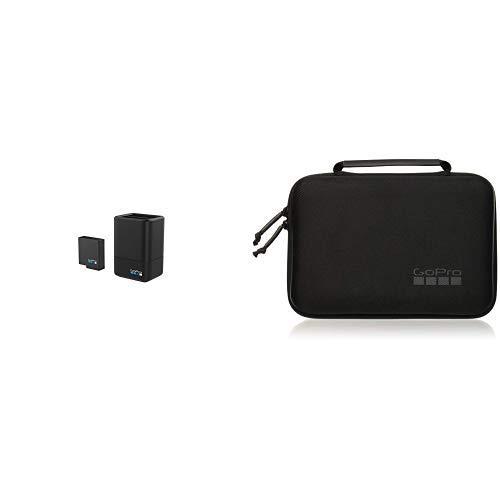 GoPro Dualladegerät mit Akku für HERO5 schwarz &  Wasserbeständig Tasche für Kamera + Halterungen + Zubehör
