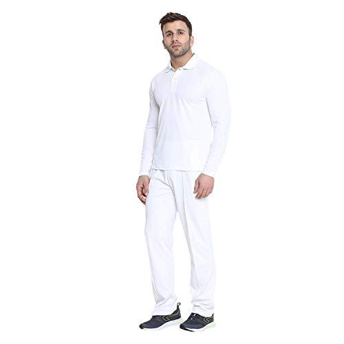 CHKOKKO Men Cricket Dry-fit Jersey Uniform T Shirt and Lower Combo