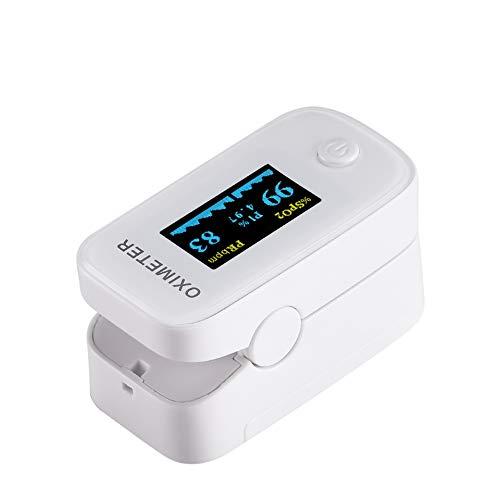 日本国内検品済 パルスオキシメーター 血中酸素濃度計 医療用 家庭用 心拍計 spo2 脈拍測定器 医療機器認証取得済 クリップ式 ワンタッチで簡単操作 5秒測定 液晶画面 携帯便利