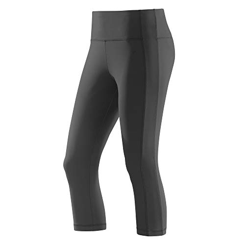Joy Sportswear 3/4-Hose Susanna für Damen Stretch-Hose   Fitness, Running und Gym   Bewegungsfreiheit Normalgröße, 42, Black