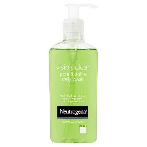 Neutrogena Visibly Clear Poren und Glanz Tägliche Waschung, 200 ml