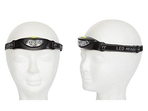 Tandem Kit de lampes frontales sportives à LED ultra lumineuses pour randonnée, trekking, camping, extérieur