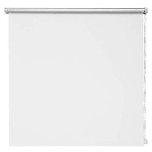 Thermo-Rollo Weiß 60x210 cm ohne Bohren Verdunkelungsrollo Seitenzugrollo Klemmrollo Blackout Silberbeschichtung