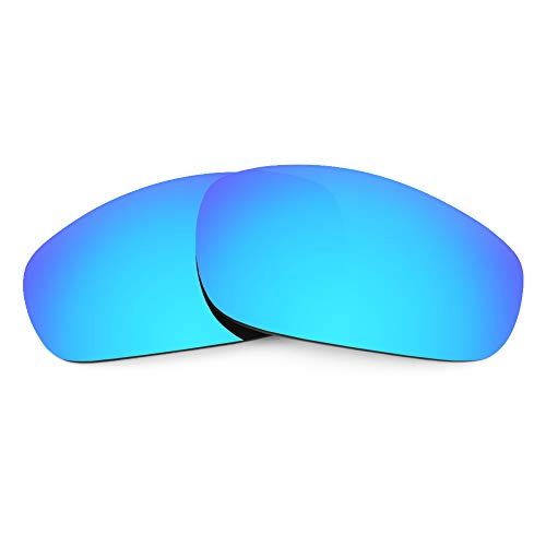 Revant Verres de Rechange Compatibles avec Oakley Fives 4.0, Non Polarisés, Bleu Glacier MirrorShield