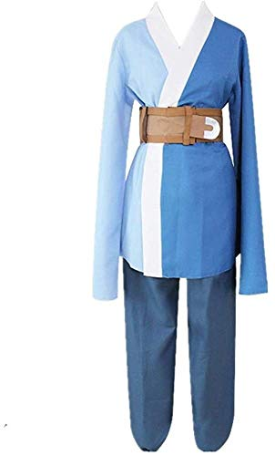 N\A ZT 6 unids Anime Naruto Next Generations Mitsuki Halloween Carnival Cosplay Traje Traje Daily Japons Kimono Uniforme Trajes con Accesorios (Color : XXL)