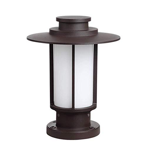 BOSSLV Lampes Murales de Lavage Lampes Lumières Spotlights Éclairage Simple Élégant Lampe de Colonne Extérieure Européenne Extérieur Jardin Imperméable Patio