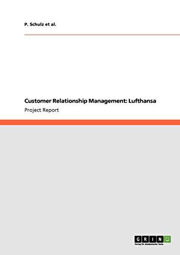 Customer Relationship Management: Lufthansa