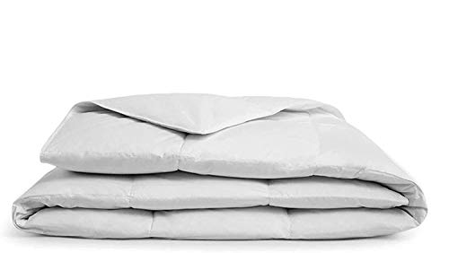 """A1 HOME COLLECTIONS A1HC 100% New Zealand Wool Organic Duvet Insert, Stand Alone Comforter, Twin 68"""" X 86"""", 200 GSM"""