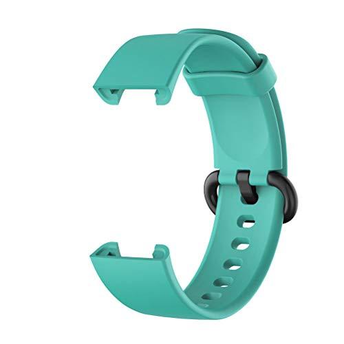 AILOS Cinturino di Ricambio Cinturino Orologio, Cinturino Compatibile per Xiaomi Mi Watch Lite/Redmi Watch Lite Smart Watch Cinturino di Ricambio Cinturino Silicone Cinturino Polso(Taglia Unica)