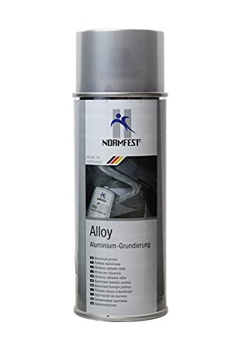 Normfest Alloy Alu Grundierung Spray schweißbar hitzebeständig bis 600° 400ml