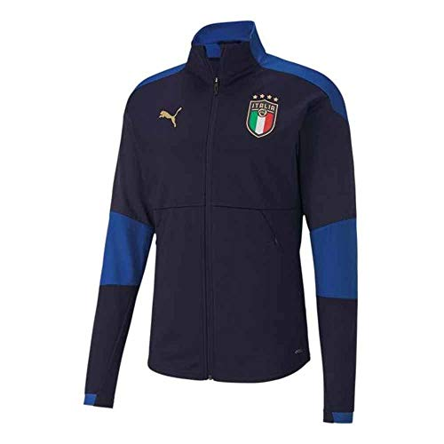 felpa italia 2020-2021 Italy Training Jacket (Peacot)