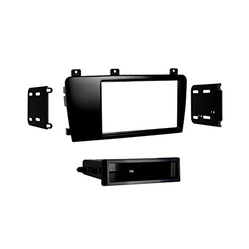 Metra 99-9227 Single/Double DIN Installation Kit for Select 2005-09 Volvo S60 and V70 (Black)