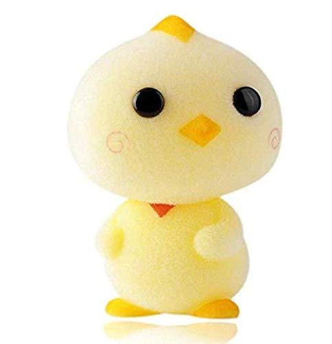 knuffel schattige kip stroomden pop kawaii mini dieren action figure speelgoed mini chick voor kinderen geschenken auto decoratie