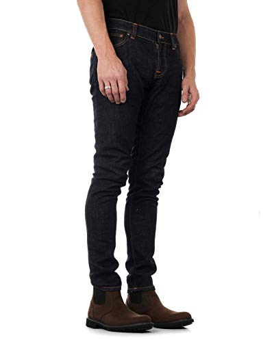 NUDIE JEANS Tight Terry Jeans Slim, Blu (Rinse Twill), W32/L32 (Taglia Produttore:L32W32) Uomo