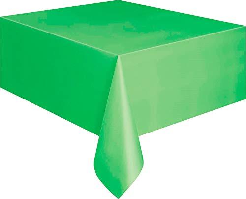 Unieke partij Rechthoek tafelkleed Pack of 1 Lime Groen